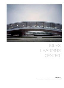 9782940222445: THE ROLEX LEARNING CENTER (ENG) (PRESSES POLYTECHNIQUES ET UNIVERSIT)