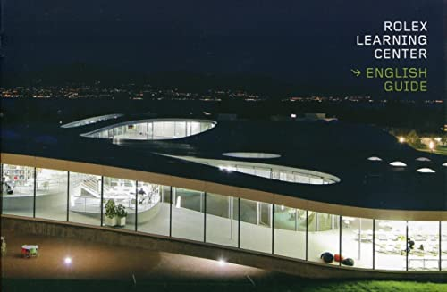 9782940222513: Guide Rolex Learning Center (english guide)
