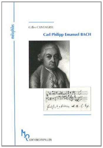 9782940310463: Carl Philipp Emanuel Bach et l'âge de la sensibilité