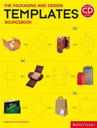 the PACKAGING and DESIGN TEMPLATES SOURCEBOOK + CD, UnOpened Packet. *: HERRIOTT, Luke