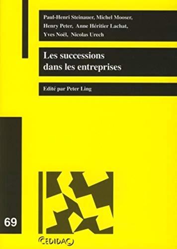 Les successions dans les entreprises (French Edition): Collectif