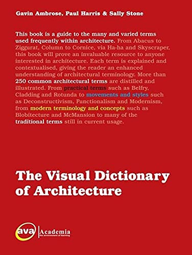 9782940373543: The Visual Dictionary of Architecture