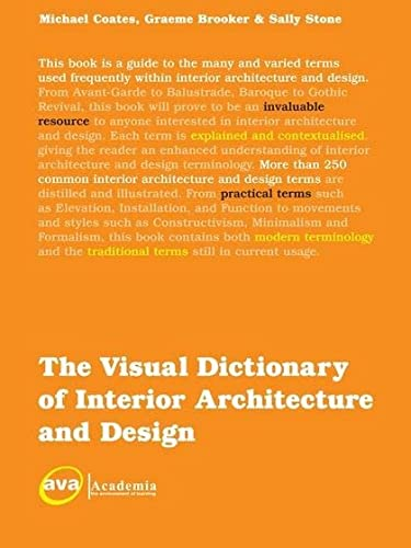 9782940373802: The Visual Dictionary of Interior Architecture and Design (Visual Dictionaries)