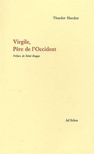 9782940402045: Virgile, Père de l'Occident (French Edition)