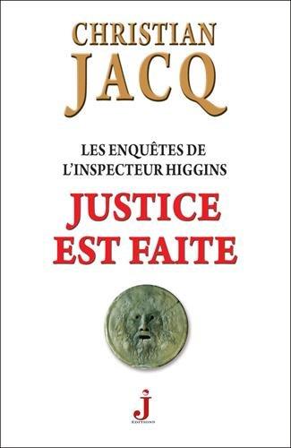 9782940544158: Les enqu�tes de l'inspecteur Higgins, Tome 20 : Justice est faite