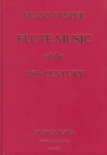 9782950064615: Flute Music of the Eighteenth Century: An Annotated Bibliography