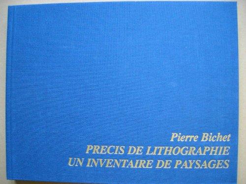 9782950115829: Precis de lithographie, un inventaire de paysages