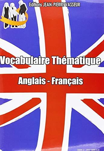 9782950120953: Vocabulaire thématique anglais-français