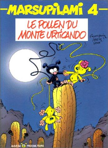 9782950221148: Le Marsupilami, tome 4 : Le Pollen du Monte Urticando