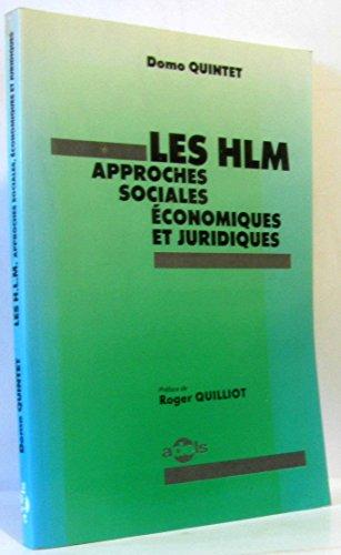 9782950290915: Les HLM, approches sociales, économiques et juridiques