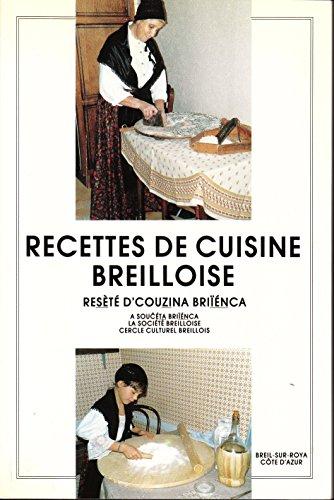 9782950453303: RECETTES DE CUISINE BREILLOISE