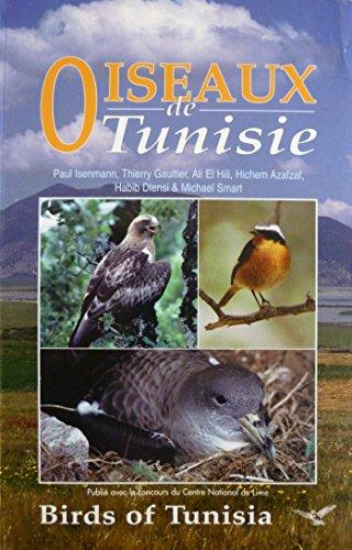 9782950654892: Oiseaux de Tunisie/Birds of Tunisia - Bilingue anglais/français