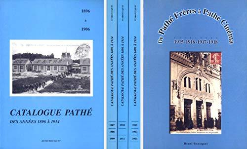 9782950729613: Catalogue pathe des annees 1896 a 1914 t.2: 1907-1908-1909