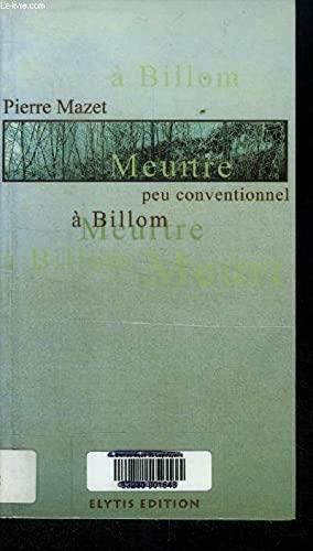 9782950874252: Meurtre peu conventionnel à Billom