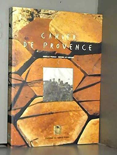 9782950927316: Cahier de Provence