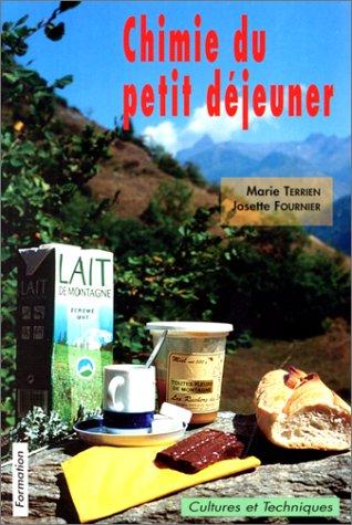 9782951016859: Chimie du petit déjeuner