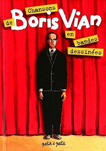 9782951173309: Chansons de Boris Vian en bandes dessinées