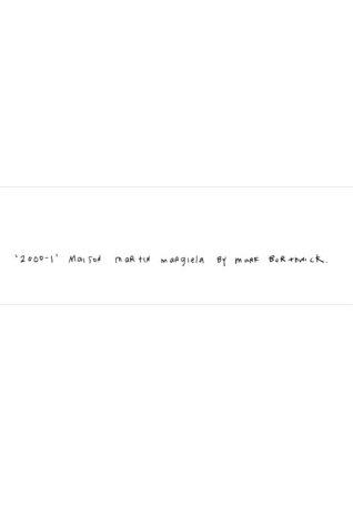 9782951246003: 2000-1: MAISON MARTIN MARGIELA BY MARK BORTHWICK