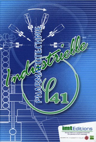 9782951253520: PHI 41 Pharmacotechnie industrielle