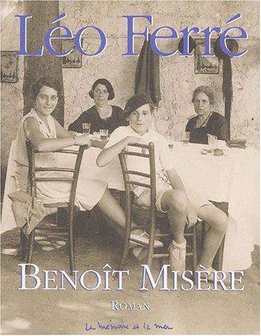 9782951346079: Benoît Misère