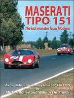 9782951364264: Maserati Tipo 151 The Last Monster from Modena