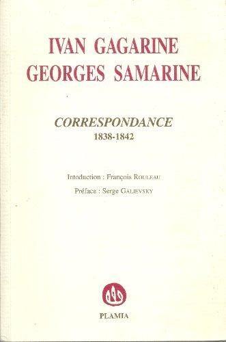 9782951383814: Correspondance 1838-1842