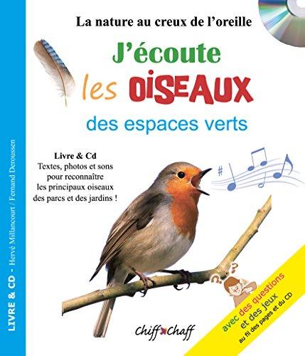 9782951556638: J'écoute les oiseaux des espaces verts (LIVRE+CD)
