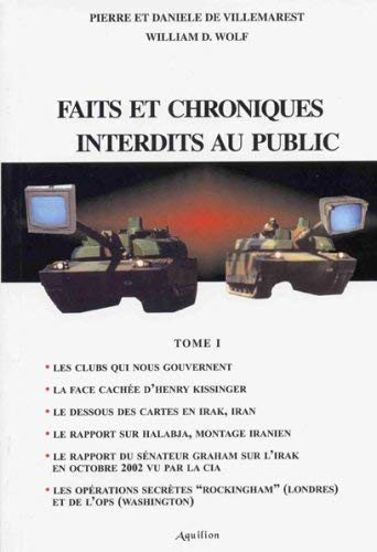 Faits et chroniques interdits au public : Pierre de Villemarest;