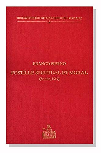 Biblioth?que de linguistique romane, Volume 3 : Pierno, Franco