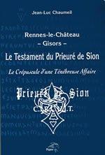 9782951875289: Le testament du Prieure de Sion