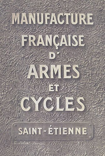 9782951987517: Manufacture française d'armes et cycles : Collection 1910