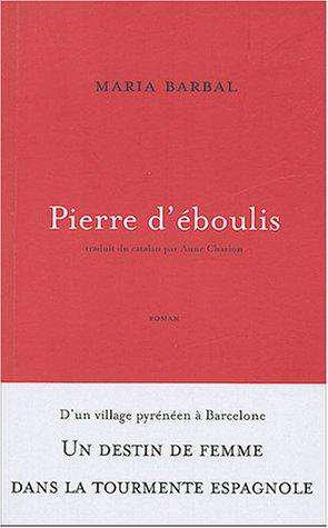 9782952027809: Pierre d'eboulis