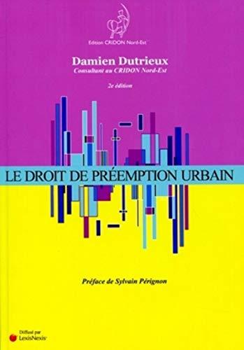 9782952059664: le droit de préemption urbain