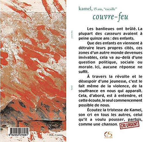 9782952076081: Couvre-feu