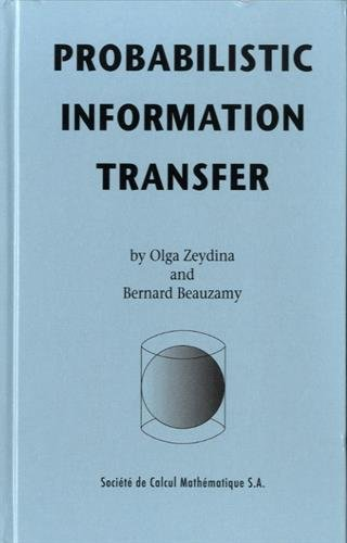 9782952145862: Probabilistic Information Transfer (Real Life Mathematics)
