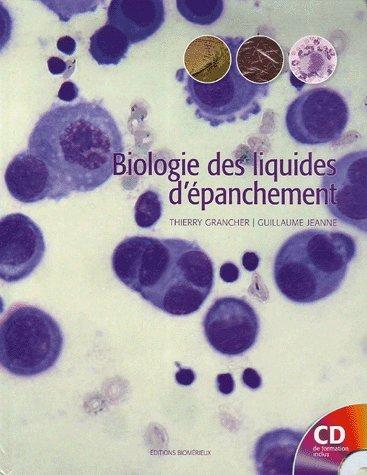 9782952172509: Biologie des liquides d'épanchement (1Cédérom)
