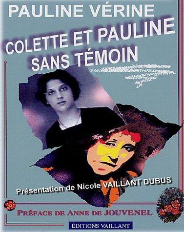 9782952181679: Colette et Pauline sans témoin