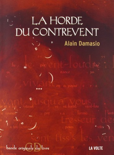 9782952221702: La horde du contrevent (1CD audio) (French Edition)