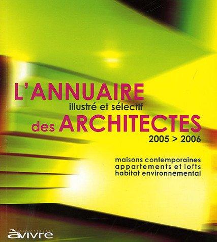 9782952350006: L'annuaire illustré et sélectif des architectes