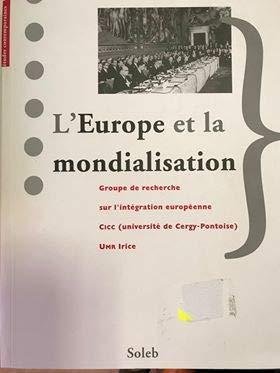 9782952372633: L'Europe et la mondialisation