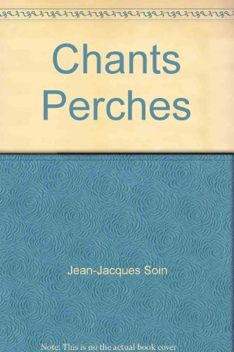 9782952429320: Chants Perches