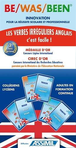 9782952459501: Assimil English: Be/Was/Been - Cartes pour apprendre les verbes irreguliers