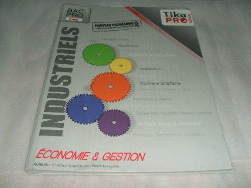 9782952646369: industriels ; bac pro 3 ans ; kit élève (édition 2010)