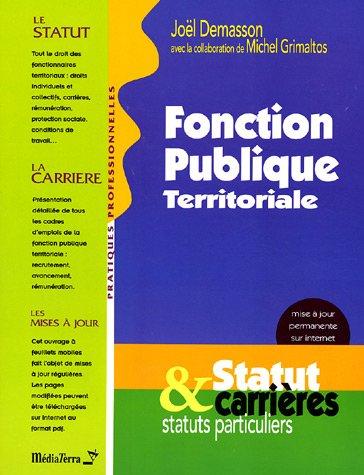 9782952765206: Fonction publique territoriale : Statut & Carrières