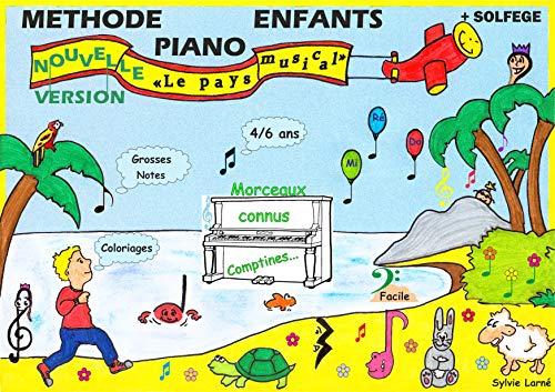 9782952789400: METHODE PIANO ENFANTS avec partie solfège -
