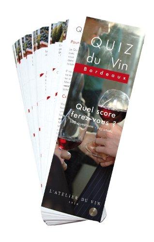 9782952810302: Quiz du Vin Bordeaux