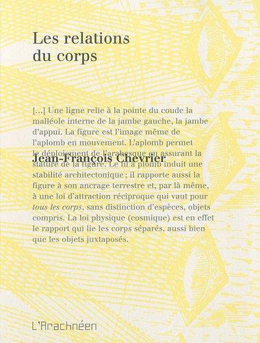 9782952930277: Les Relations du corps