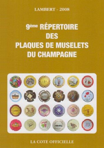 9782952982214: Repertoire des Plaques de Muselets de Champagne