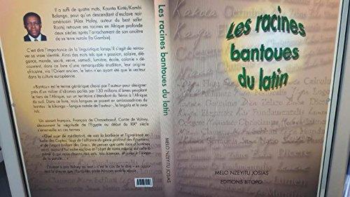9782953082517: Les racines bantoues du latin