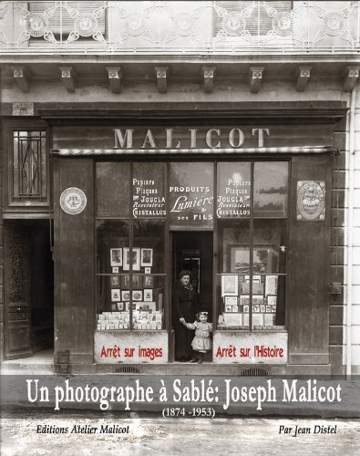 9782953433104: Un photographe à Sablé : Joseph Malicot